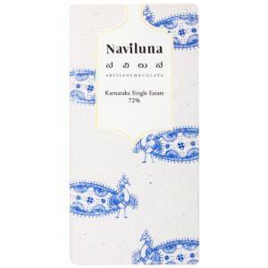 Naviluna 72% Karnataka Single Estate Chocolate Bar, 60g
