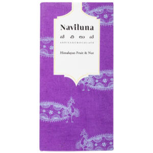 Naviluna Himalayan Fruit & Nut Chocolate Bar, 60g