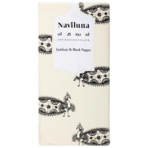 Naviluna Jackfruit & Black Pepper Artisan Chocolate Bar, 60g