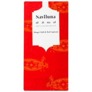 Naviluna Mango, Red Capsicum & Chili Chocolate Bar, 60g