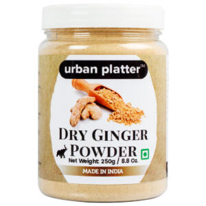 Urban Platter Dried Ginger Powder (Sunth), 250g / 8.82oz [All Natural, Premium Quality]