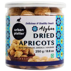Urban Platter Afghan Dried Apricots (Jardalu / Khubani), 250g / 8.8oz [Rich in Iron]