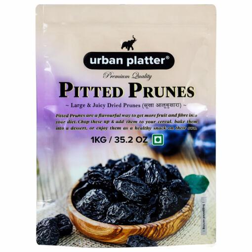 Urban Platter Pitted California Prunes, 1Kg