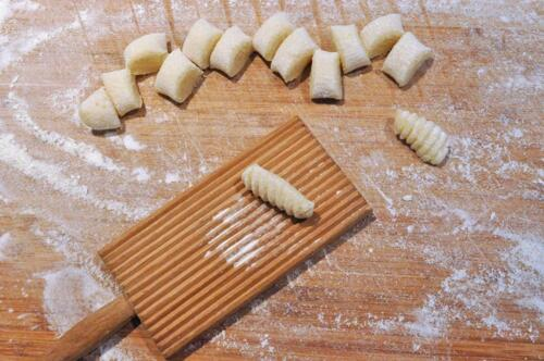 Urban Platter Pine Wood Gnocchi Paddle, Made in Italy