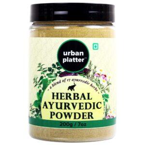 Urban Platter Ayurvedic Herbal Powder, 200g