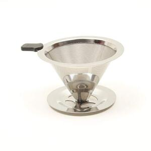 Urban Platter V60 Steel Fine Mesh Coffee Filter, Size - Height 6cm x 11.5cm Width [Coffee Dripper, Reusable, Hario Compatible]